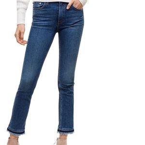 rag & bone Hana High-rise Slim fit Cropped Jean